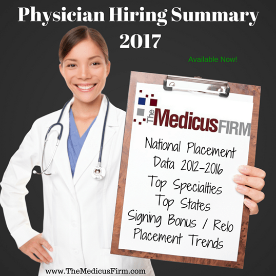 Physician Hiring Summary 2017