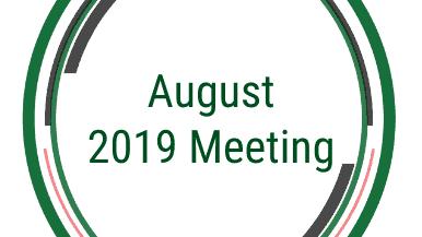 CFMGMA August 2019 Meeting